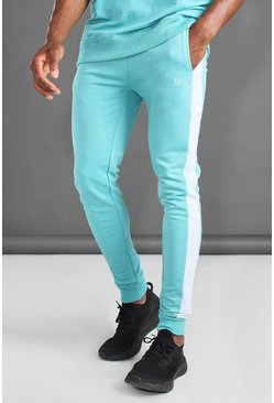 Aqua Super Skinny Fit Joggers With Side Panel