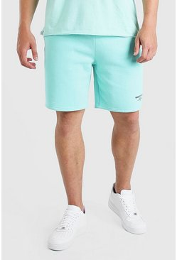 Mint Big And Tall MAN Double Waistband Jersey Short