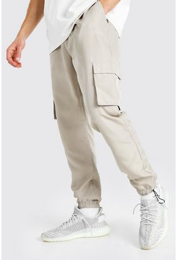Stone MAN Official Shell Jogger With Bungee Cords