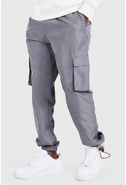 Slate MAN Official Shell Jogger With Bungee Cords