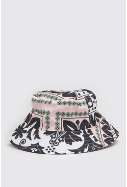 Multi Printed Bucket Hat
