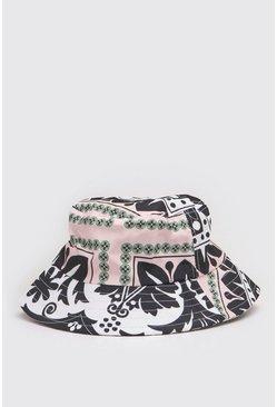 Multi Printed Bucket Hat