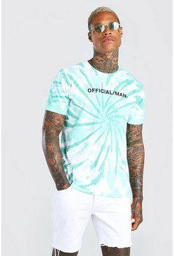 Green Official MAN Tie Dye T-Shirt