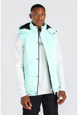 Mint MAN Official High Shine Hooded Gilet