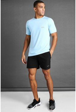 MAN Active Set mit T-Shirt und Shorts, Blau