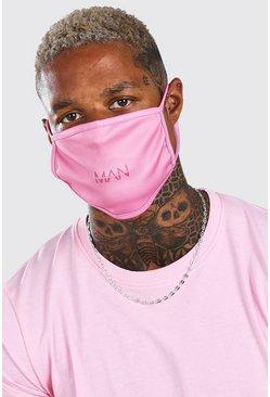 Pink MAN Dash Fashion Mask