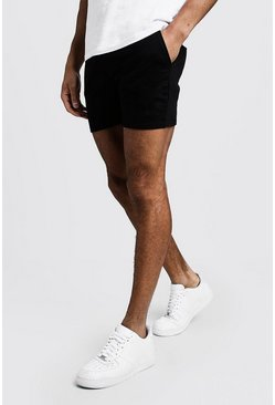 Black Original MAN Short Length Jersey Shorts