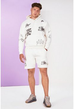 Stone Big And Tall Graffiti Tracksuit