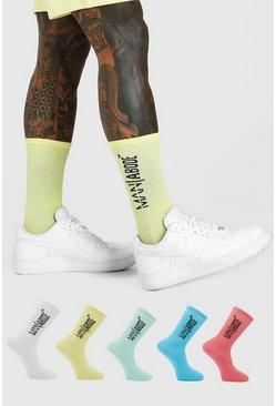 Multi 5 Pack ABODE Socks