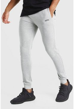 Grey Original MAN Super Skinny Joggers