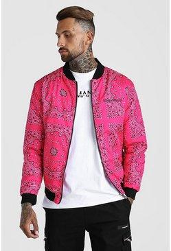 Pink Bandana Bomber
