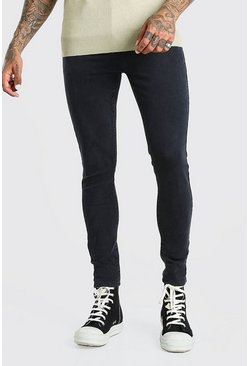 Charcoal Super Skinny Jeans