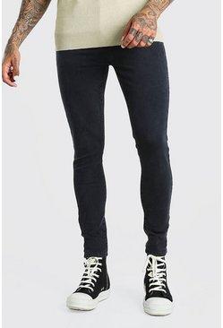 Charcoal Super Skinny Jeans