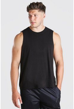 Black Plus Size Basic Tank