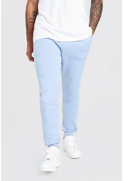 Pale blue MAN Official Skinny Fit Marl Jogger