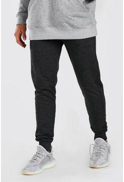Charcoal Basic Skinny Fit Jogger