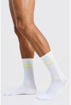 Yellow Single Pack Sport Socks