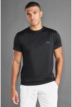 Black MAN Active Poly T-Shirt