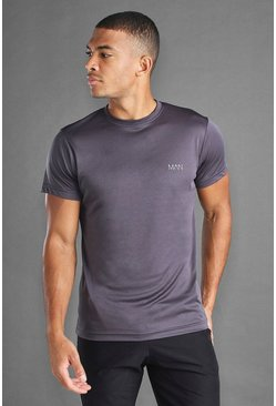 T-shirt Active Poly MAN, Anthracite :