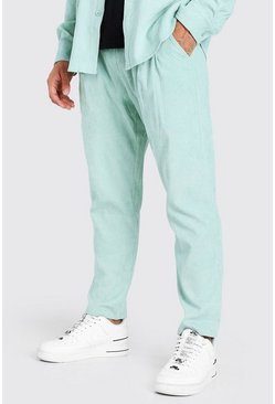 Sage Cord Trousers