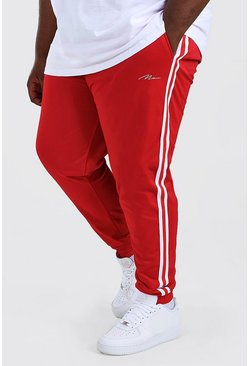 Red Big And Tall MAN Signature Tricot Cuff Jogger