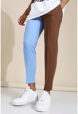 Multi Skinny Spliced Tailored Trouser