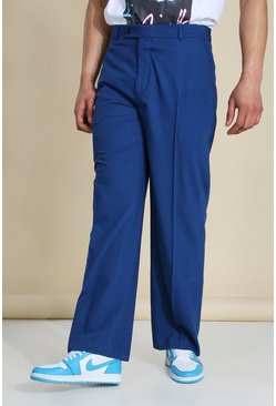 Cobalt Wide Leg Tailored Trouser