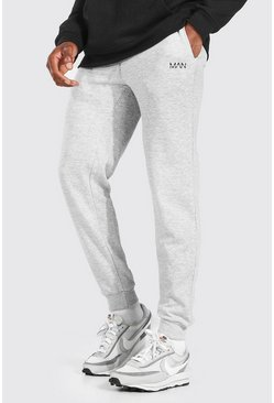 Grey marl MAN Dash Loose Fit Jogger