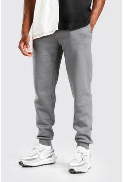 Charcoal Basic Slim Fit Joggers