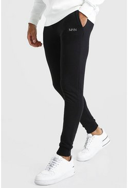 Black Original MAN Super Skinny Joggers