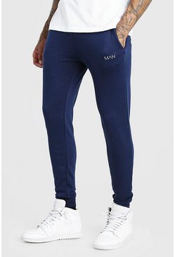 Navy Original MAN Super Skinny Joggers