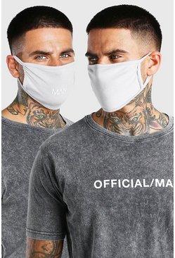 Grey marl 3 Pack MAN Dash Multi Fashion Masks