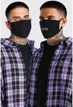 Multi 5 Pack MAN Dash Fashion Masks