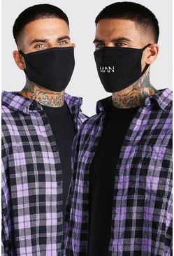 Multi 5 Pack MAN Dash Fashion Masks
