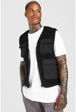 Black Borg Utility Vest