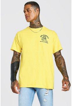 Yellow Joe Exotic Tiger King Print T-Shirt