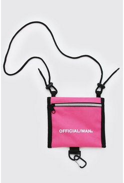 Pink MAN Official Cross Body Pouch