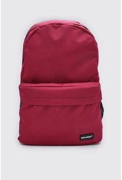 Burgundy MAN Official Basic Backpack