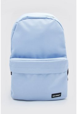 Pale blue MAN Official Basic Backpack