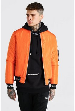 Orange Bomber With MAN Rib