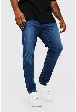 Mid blue Plus Size Skinny Fit Jean