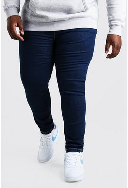 Dark blue Plus Size Skinny Fit Jean
