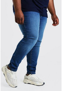 Mid blue Plus Size Super Skinny Jean