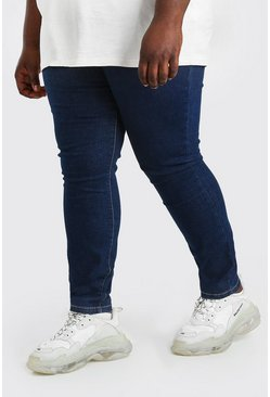 Dark blue Plus Size Super Skinny Jean