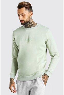 Sage Original MAN Crew Neck Sweatshirt