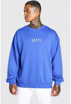 Cobalt Oversized Original MAN Sweatshirt