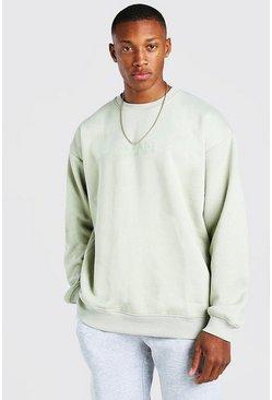Sage Oversized Original MAN Sweatshirt