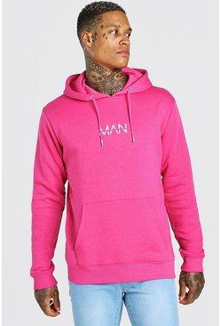 Pink Original MAN Over The Head Hoodie