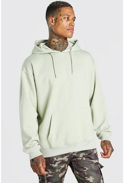 Sage Oversized Original MAN Over The Head Hoodie