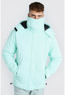 Mint MAN Official High Shine Snood Puffer